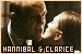 Dr. Hannibal Lecter and Clarice Starling